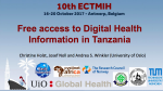 Free access to Digital Health information in Tanzania.png