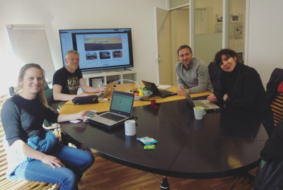 work meeting DigI at Open Innovation Lab of Norway
