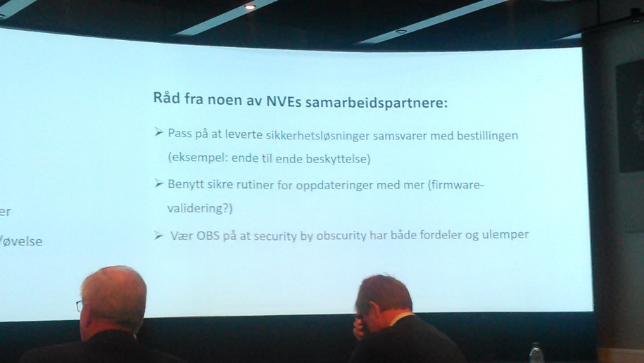 Recommendations from NVE for Smart Grids